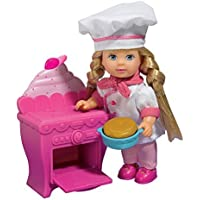 [Mommy and Me Doll Collection] Mommy & Me Doll Collection Evi Love Baking a cake with oven & cake 105733078 [parallel