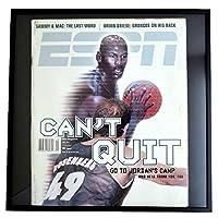 NBA シカゴ・ブルズ マイケル・ジョーダン フォトフレーム Photo Frame in ESPN 1999/4 - [並行輸入品]