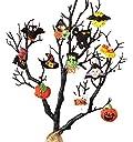 Bucilla 86430 Halloween Felt Applique Ornaments Kit (Size 2 by 2.5-Inch), Set of 12 by Bucilla