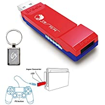 Gam3Gear Brook Super Sw Converter For PS3 PS4 To Nintendo Switch Controller Adapter With Gam3Gear Keychain