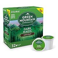 グリーンマウンテンコーヒー ダークマジックブレンド ダークロースト コーヒー 32個入 Kカップ Green Mountain Coffee Keurig [並行輸入]
