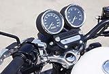ベビーフェイス(BABY FACE) ヘルメットロック ハンドルホルダータイプHD(ハーレーダビッドソン)専用・メッキキーシリンダー シルバー 009-LCHD2SV