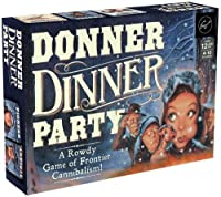 Chronicle Books Donner Dinner Party: A Rowdy Game of Frontier Cannibalism! (Weird Games for Parties%カンマ% Wild West Frontier Game%カンマ% Deception Board Game) [並行輸入品]