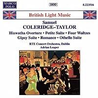 Coleridge-Taylor: Hiawatha Overture, Op. 30 / Petite Suite de Concert, Op. 77 / 4 Characteristic Waltzes, Op. 22 / Gipsy Suite, Op,. 20 / Romance of the Prairie Lilies, Op. 39 / Othello Suite, Op. 79 (1995-09-19)