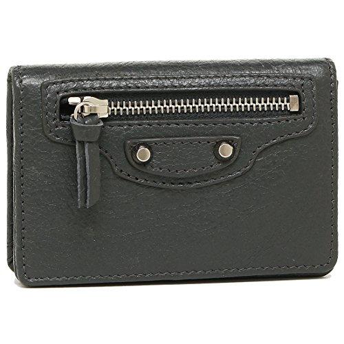 バレンシアガ カードケース BALENCIAGA 477453 D940N 1110 CLASSIC CARD CASE レディース 名刺入れ 無地 GRIS FOSSILE [並行輸入品]
