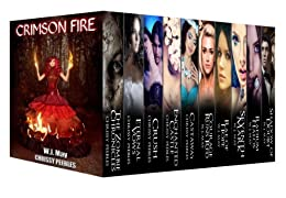 Crimson Fire by [May, W.J., Peebles, Chrissy]