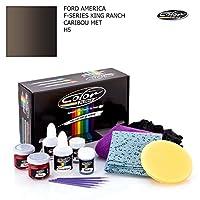 フォード・America FシリーズKing RanchカラーNドライブタッチアップペイントシステムペイントチップスクラッチ PLUS PACK C045208PLS