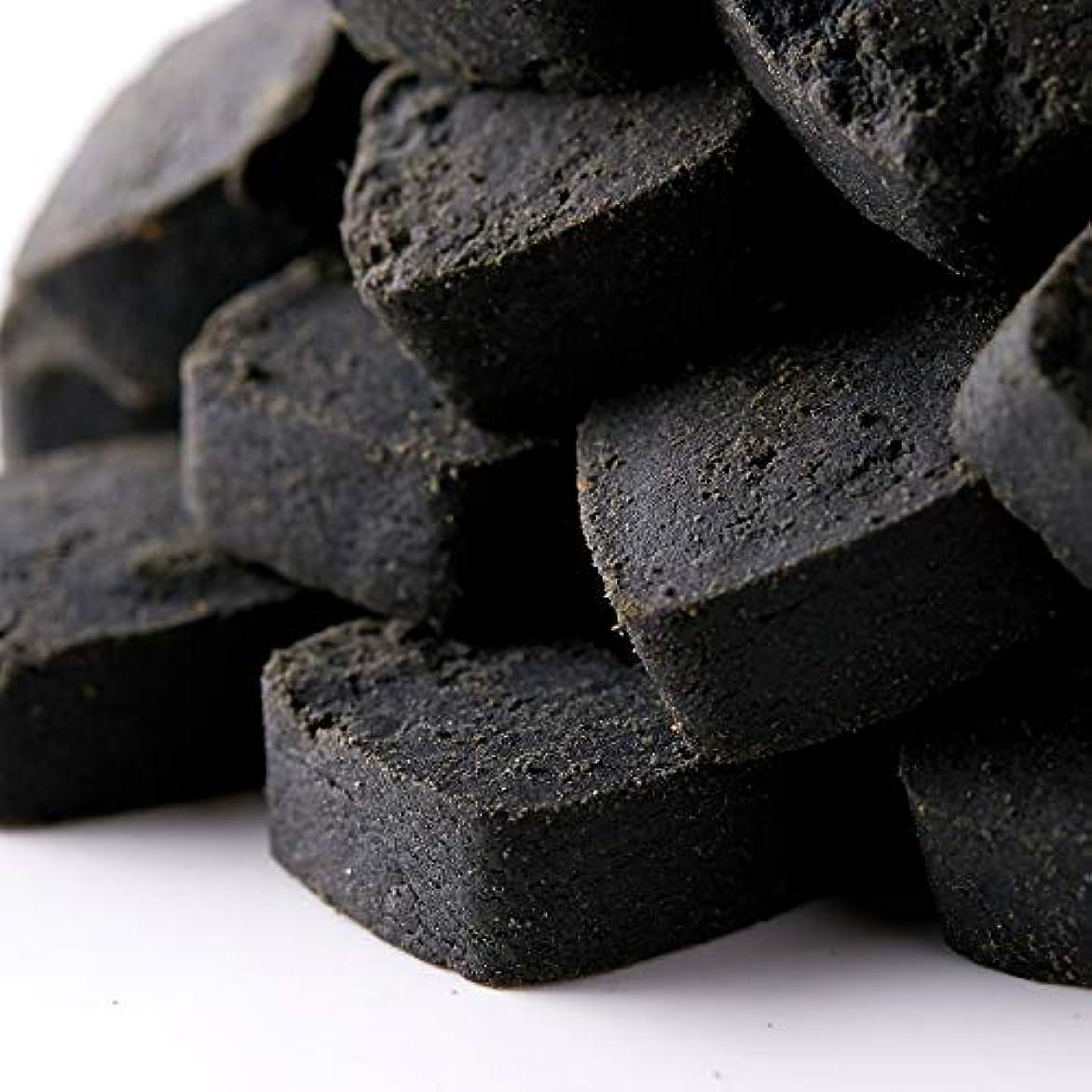 秀でる鎖ロイヤリティ竹炭パウダー使用 【訳あり】竹炭マンナン おからクッキー 500g (竹炭マンナン, 単品)