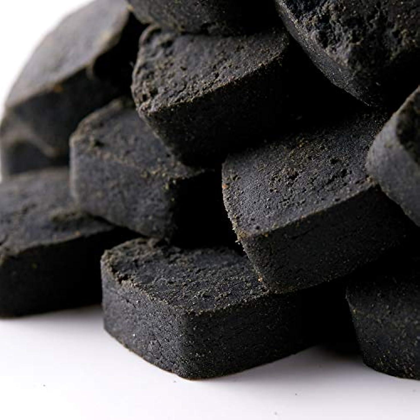 飢えた誰でも分解する竹炭パウダー使用 【訳あり】竹炭マンナン おからクッキー 1㎏ (竹炭マンナン, 500x2)
