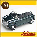 Schuco(シュコー)社ミニカー 452011800 ミニクーパー グリーン/ホワイト 1/64