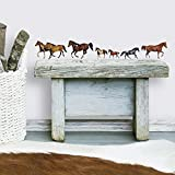 RoomMates Wild Horses Peel and Stick Wall Decals
