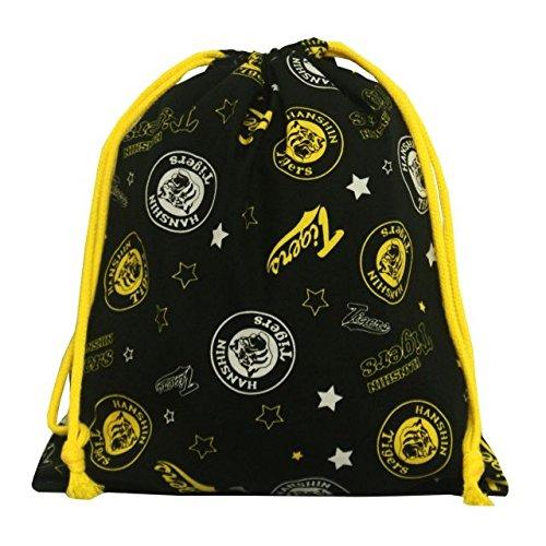 巾着袋 給食袋 阪神タイガース 学校 お弁当袋 きんちゃく 小物入れ 子供用 Mサイズ 巾着袋-068825 F