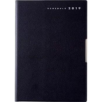 高橋 手帳 2019年 4月始まり ウィークリー フェルテ R 7 B6 黒 No.885