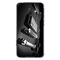 CaseMarket 【ポリカ型】 docomo らくらくスマートフォン プレミアム F-09E ポリカーボネート素材 ハードケース [ ブラックナイト ギター ]