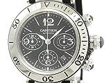 [カルティエ]Cartier【CARTIER】カルティエ パシャ シータイマー クロノグラフ ステンレススチール ラバー 自動巻き メンズ 時計W31088U2(BF304340)[中古]