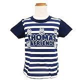 きかんしゃトーマス ボーダープリントTシャツ 子供服 半袖 (コン/120cm)