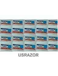 200 Gillette Double Edge Safety Razor Blades Classic 2 Side 10*20 - 並行輸入品 - 200ジレットダブルエッジセーフティカミソリブレードクラシック2サイド...