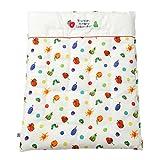 baby.e-sleep(ベビーイースリープ) はらぺこあおむしダブルガーゼ掛カバー ミニサイズ 日本製 80×100cm