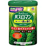 【医薬部外品】 アース製薬 バスロマン 入浴剤 ゆったり森の香り 600g