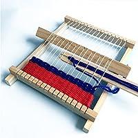 DIY Hand-Knitting Wooden Loom Toys Children Weaving Machine Interllectural Development Technology Production