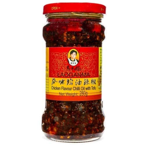 老干媽風味鶏油辣椒(フウミジユーラージオ・鶏肉入りラー油)中華料理・中華食材調味料・中国名産人気商品