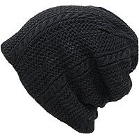 (エクサス)EXAS メッシュ格子リバーシブルニット帽(ワッチ ニット帽子 ニットワッチ)