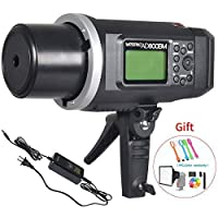 Godox ad600bm Bowensマウント600Ws gn87High Speed Sync Outdoorフラッシュストロボライトwith 2.4GワイヤレスXシステムに、8700mAhバッテリ、500フルパワー点滅Recycle in 0.01–2.52番目