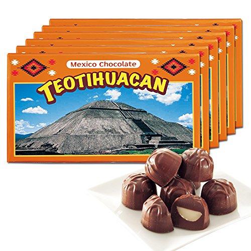 メキシコお土産 メキシコ ティオティワカン マカデミアナッツチョコレート 6箱セット