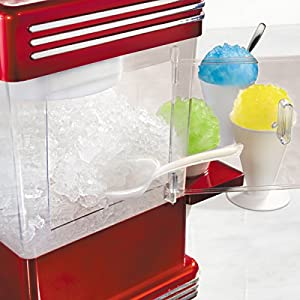 Nostalgia RSM602 Retro Series Snow Cone Maker & Shaved Ice Storage by Nostalgia Electrics