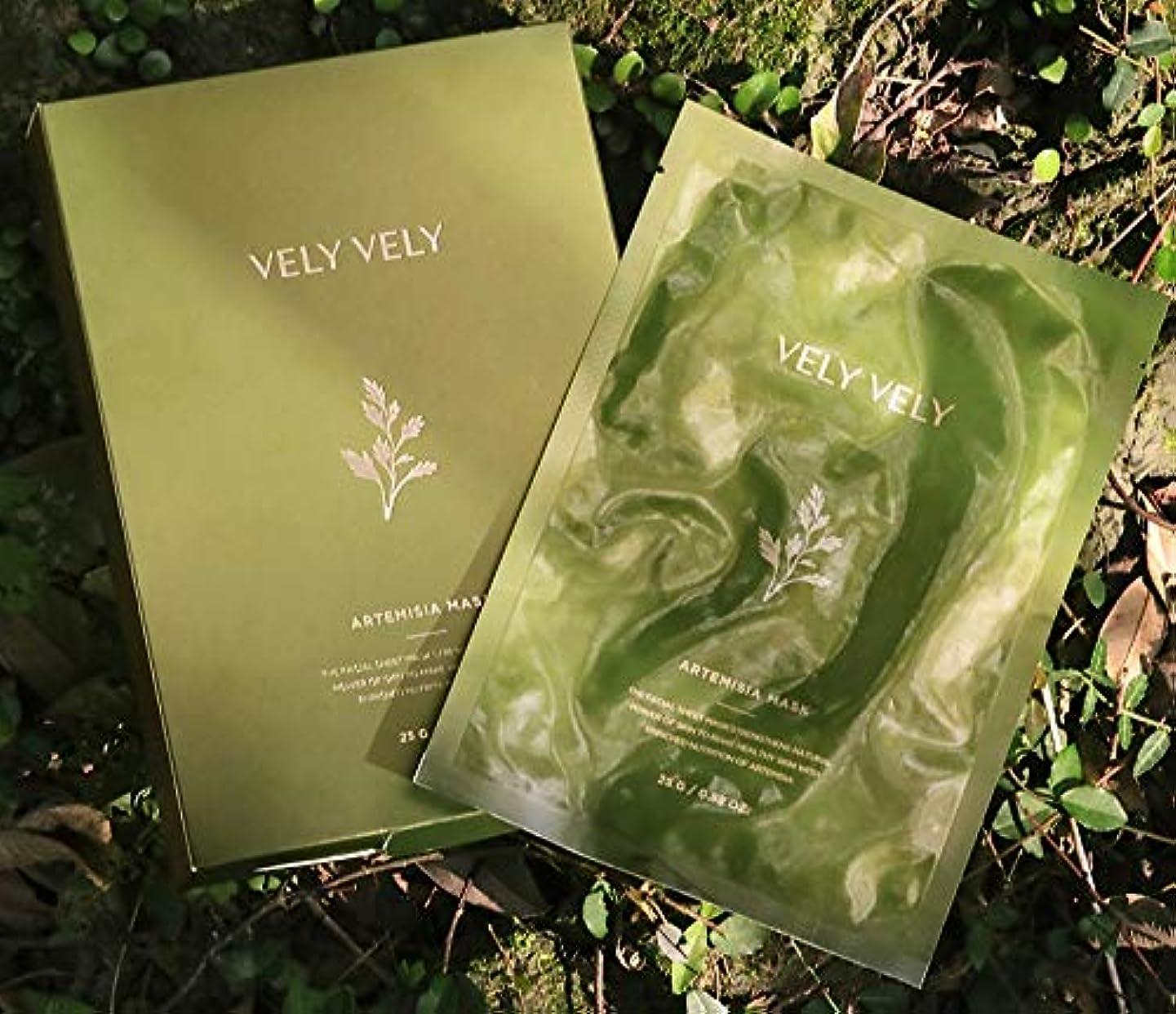 敬な従うスチールVELY VELYアルテミシアバランスマスク10EA 韓国の有名なブランド 韓国の人気マスクパックスキンケア鎮静保湿効果 ARTEMISIA BALANCE MASK