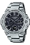 [カシオ] 腕時計 ジーショック G-STEEL スマートフォン リンク カーボンコアガード構造 GST-B400D-1AJF メンズ シルバー