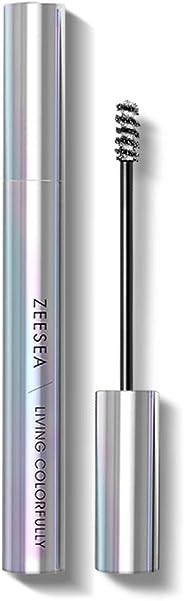 ZEESEA(ズーシー)ダイヤモンドシリーズ マスカラ (銀色ダイヤ)6.5g/7ml 防水カール カラーマスカラ