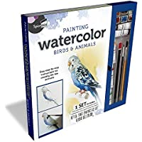 SpiceBox Painting Watercolor Birds & Animals