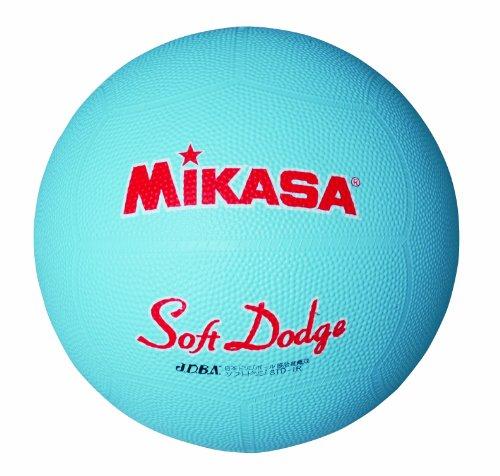 ミカサ ソフトドッジボール1号 軽量180g サックス 日本ドッジボール協会推薦球 小学校用 STD-1R S