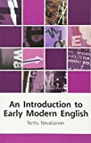 An Introduction to Early Modern English (Edinburgh Textbooks on the English Language)
