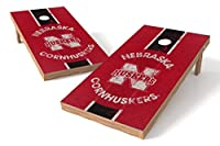 ワイルド販売NCAA Heritage XL Shield Cornhole Set