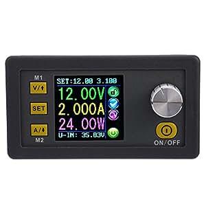 KKmoon 電源モジュール パワーモジュール LCDデジタルプログラマブル 定電圧電流ステップダウン 0-32.00V/0-3.000A DPS3003