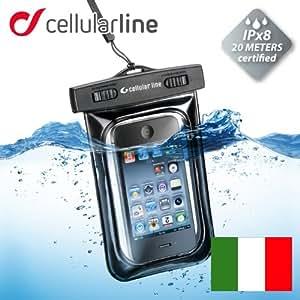 セルラーライン ≪iPhone5 対応≫【防水ケース】VOYAGER 防水基準IP×8取得完全防水iphone4.4s/xperia/galaxy/スマホ (ブラック)