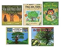 Becker's School Supplies Theme Book Set: Trees (Set of 5) [並行輸入品]