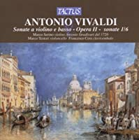 Violin Sonatas by ANTONIO VIVALDI (2009-01-13)
