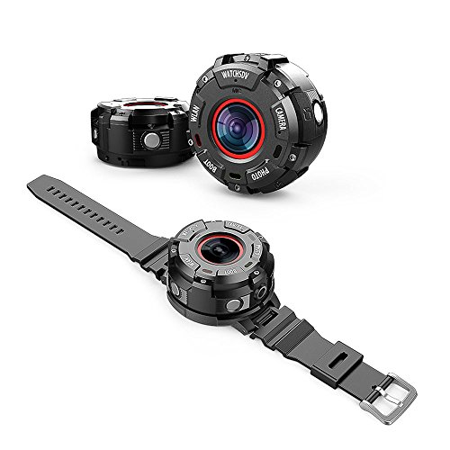 WIFI アクションカメラ HD1080p 140度超広角レ...
