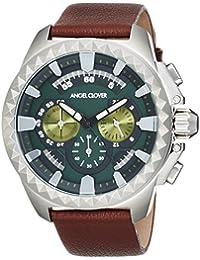 [エンジェルクローバー]AngelClover 腕時計 Rugged グレー文字盤 クロノグラフ RG46SGR-BR メンズ
