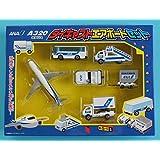 丸彰 ダイキャストエアポートセット ANA A320 エアバス