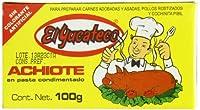 MexGrocer El Yucateco Achiote Paste 100 g (Pack of 3)