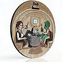 "8"" DABソロDAB Mat–Who Dabbed最初?–マウスパッドスタイルdabmat | dabpad | rigmat | dabmatz"