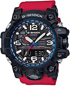[カシオ]CASIO 腕時計 G-SHOCK MUDMASTER 世界6局対応電波ソーラー GWG-1000RD-4AJF メンズ