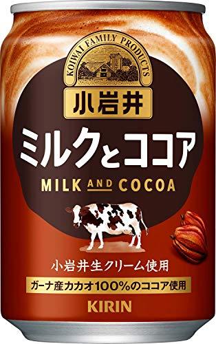 小岩井 ミルクとココア 280g缶×24本