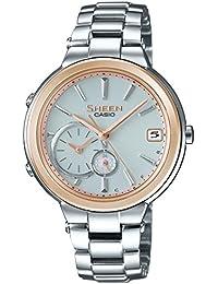 [カシオ]CASIO 腕時計 SHEEN Voyage TIME RING Series スマートフォンリンクモデル SHB-200SG-7AJF レディース