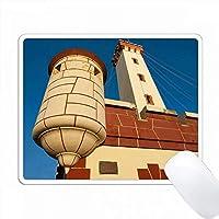 チリ、ラセレナ、ファロ記念碑、夜明けの灯台。 PC Mouse Pad パソコン マウスパッド