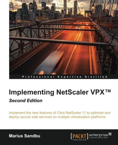 Implementing Netscaler Vpxg